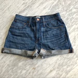 J. Crew Cropped Denim Shorts